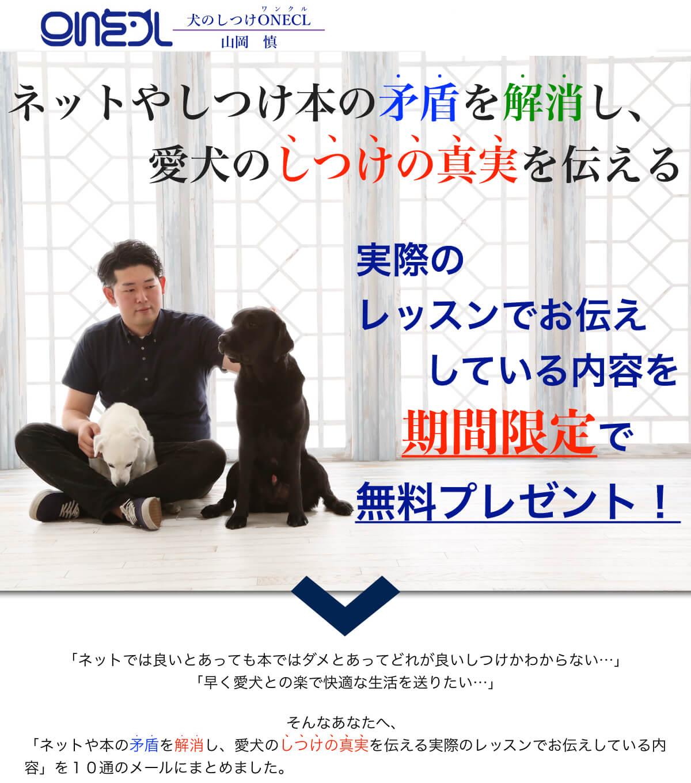犬のしつけONECL(ワンクル)